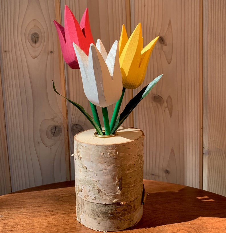 Spring Tulip Bouquet - Pink
