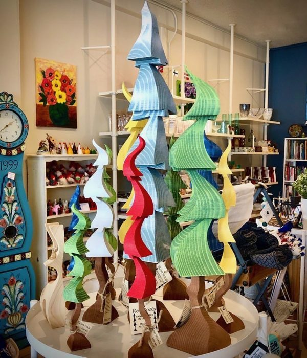 Reierwoods Tree Art and Gifts at Ingebretsen's Nordic Marketplace